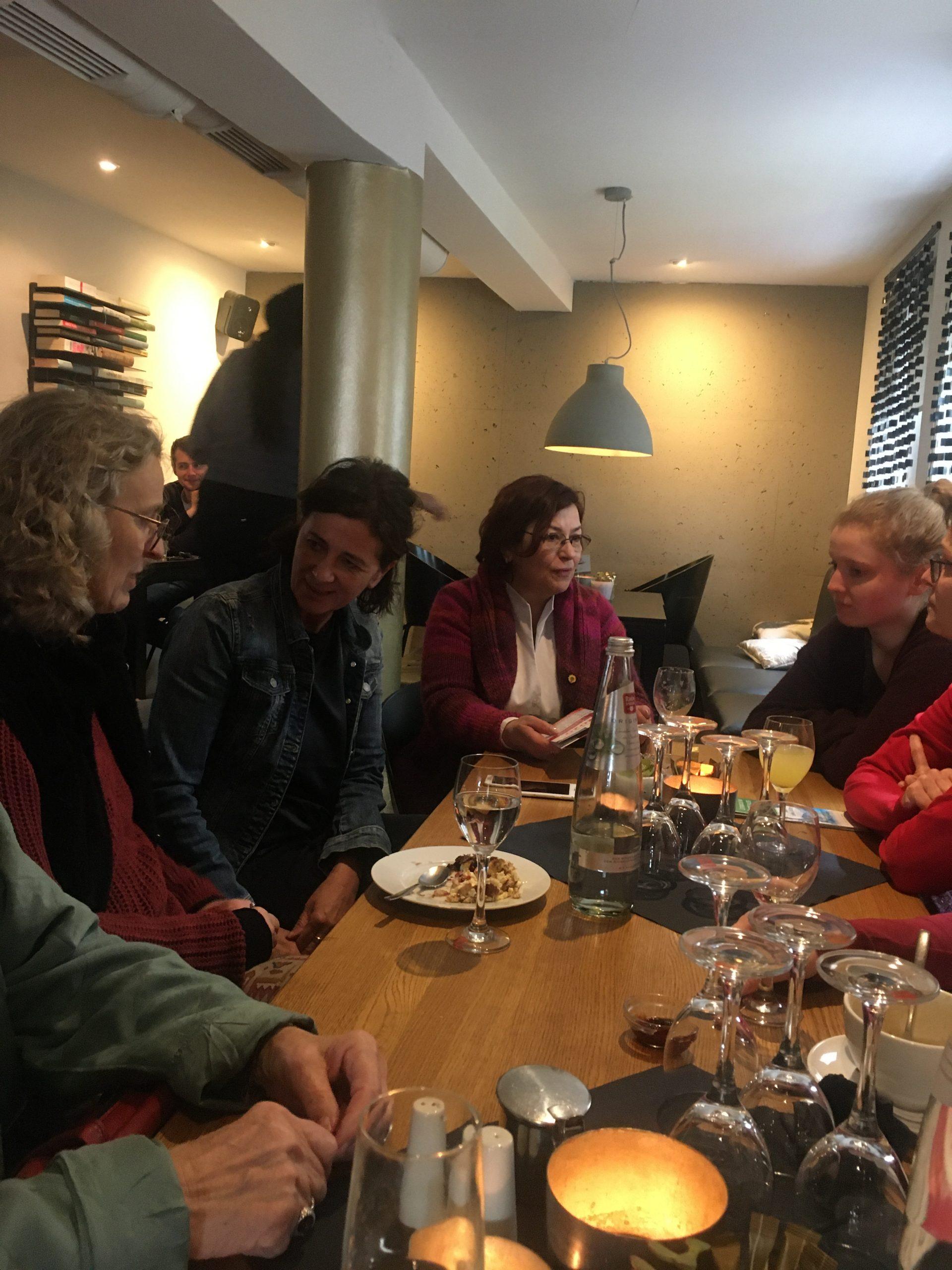politisches Frauenfrühstück im Rädchen