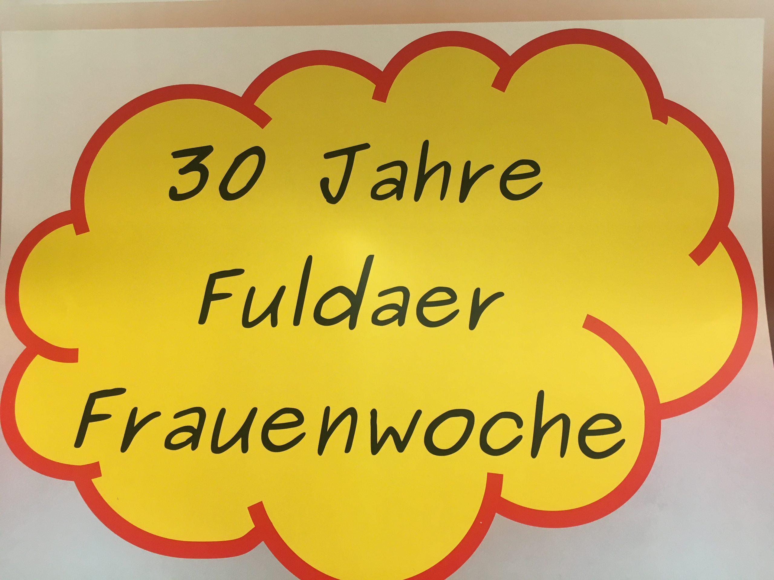 30 Jahre Fuldaer Frauenwoche