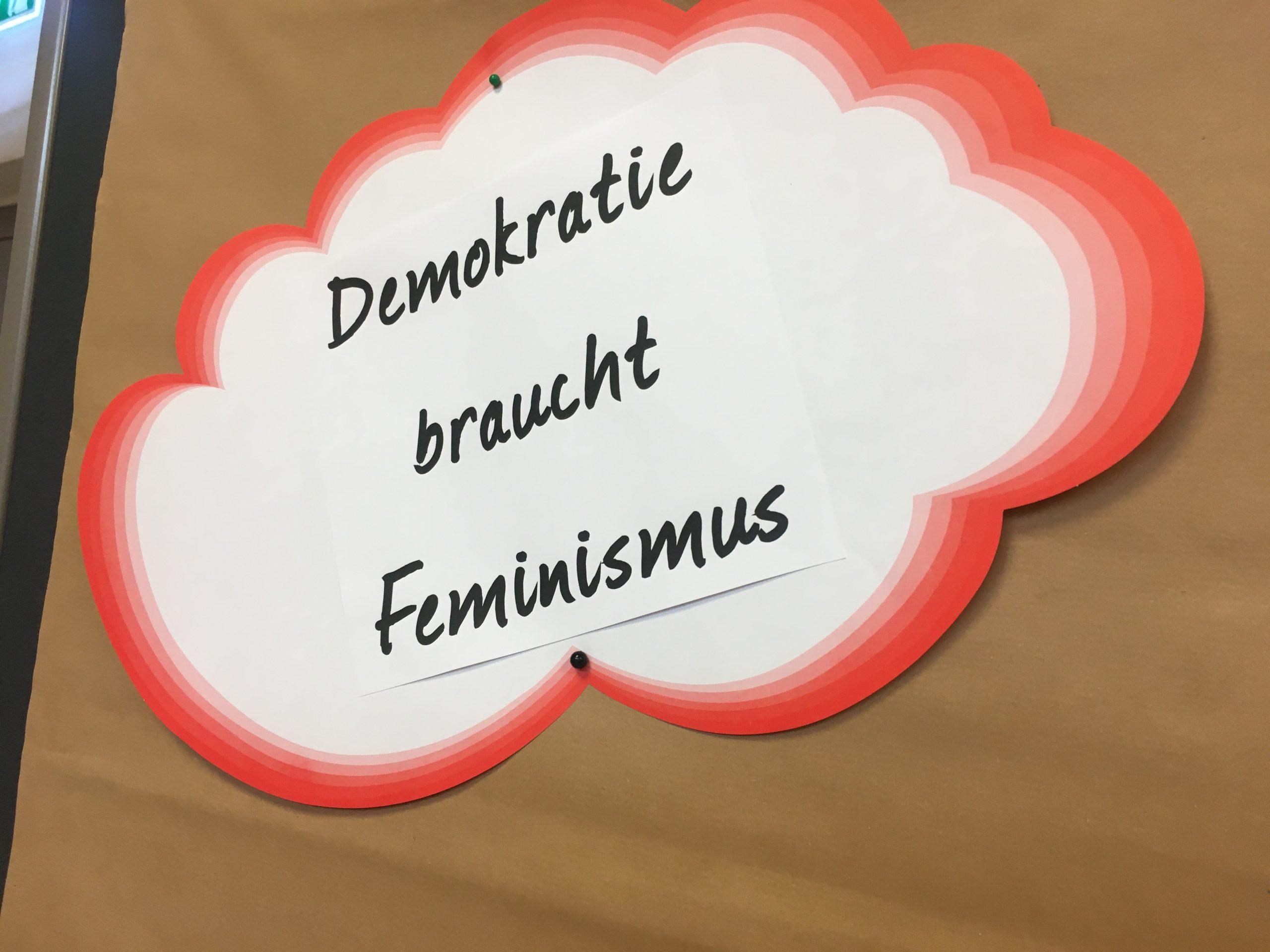Demokratie braucht Feminismus